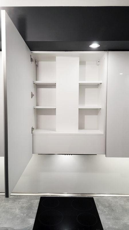 kuchnia biały połysk