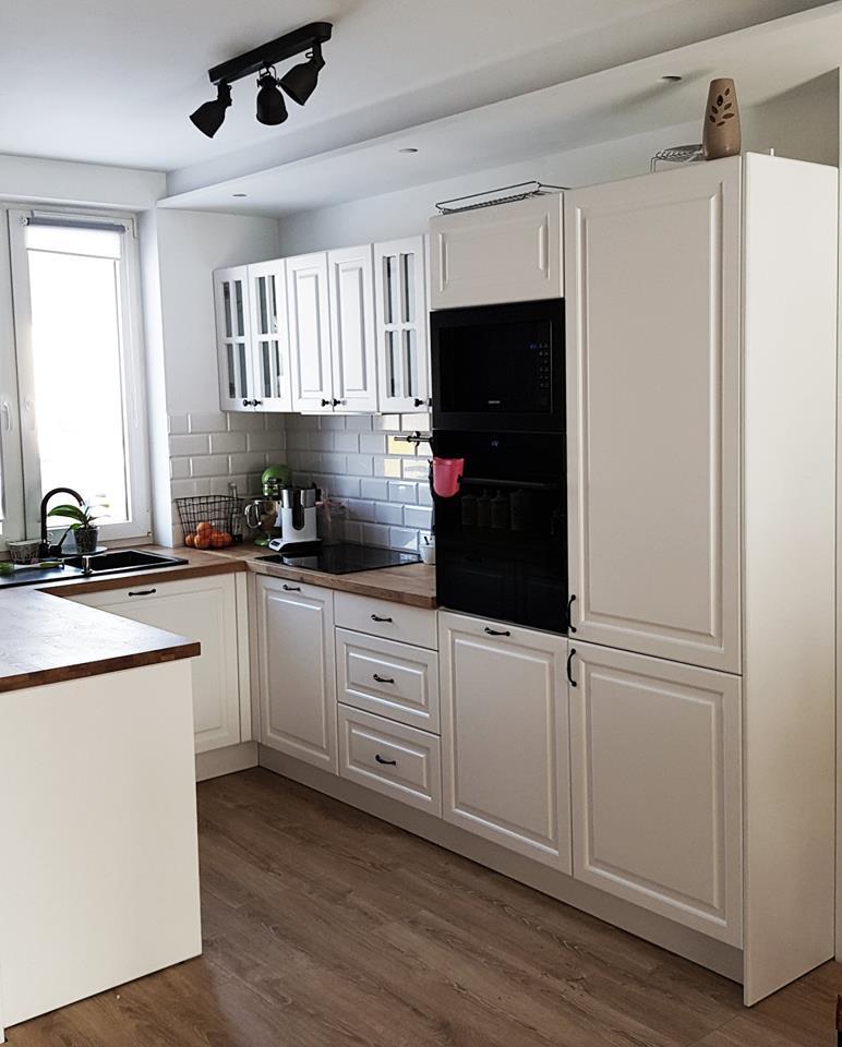 kuchnia biała klasyczna